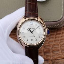New Swiss Made Automatic Cle de Cartier WJCL0032 1:1 Best Replica Watch 40MM/35MM SCA0052