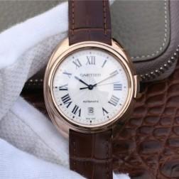 New Swiss Made Automatic Cle de Cartier WGCL0019 1:1 Best Replica Watch 40MM/35MM SCA0055