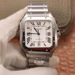 New Swiss Made Automatic SANTOS de Cartier WSSA0009 1:1 Best Replica Watch 39.8MM SCA0059