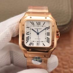 New Swiss Made Automatic SANTOS de Cartier WGSA0008 1:1 Best Replica Watch 39.8MM SCA0060