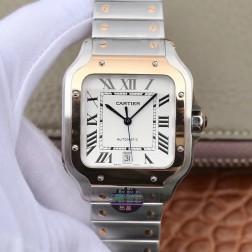 New Swiss Made Automatic SANTOS de Cartier W2SA0006 1:1 Best Replica Watch 39.8MM SCA0061
