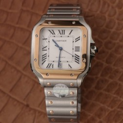 New Swiss Made Automatic SANTOS de Cartier W2SA0006 1:1 Best Replica Watch 39.8MM SCA0062
