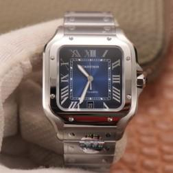 New Swiss Made Automatic SANTOS de Cartier WSSA0013 1:1 Best Replica Watch 39.8MM SCA0064