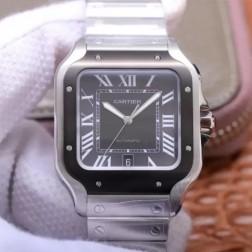 New Swiss Made Automatic SANTOS de Cartier WSSA0037 1:1 Best Replica Watch 39.8MM SCA0065