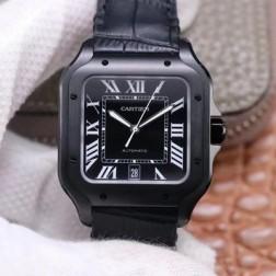 New Swiss Made Automatic SANTOS de Cartier WSSA0039 1:1 Best Replica Watch 39.8MM SCA0066