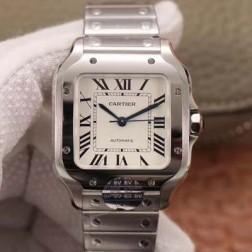 New Swiss Made Automatic SANTOS de Cartier WSSA0029 1:1 Best Replica Watch 35MM SCA0067