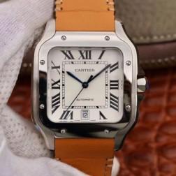 New Swiss Made Automatic SANTOS de Cartier WSSA0009 1:1 Best Replica Watch 39.8MM SCA0068