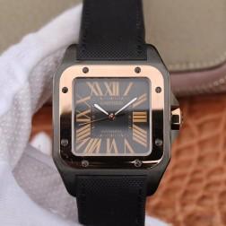 New Swiss Made Automatic SANTOS de Cartier W2020009 1:1 Best Replica Watch 38MM SCA0070