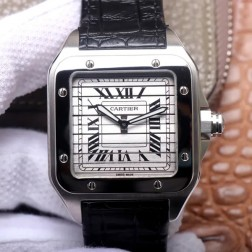 New Swiss Made Automatic SANTOS de Cartier WM505014 1:1 Best Replica Watch 45MM SCA0071