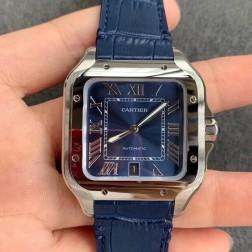 New Swiss Made Automatic SANTOS de Cartier WSSA0030 1:1 Best Replica Watch 39.8MM SCA0073