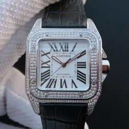 New Swiss Made Automatic SANTOS de Cartier 1:1 Best Replica Watch 41MM SCA0076