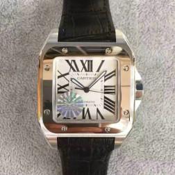 New Swiss Made Automatic SANTOS de Cartier 1:1 Best Replica Watch 38MM SCA0077