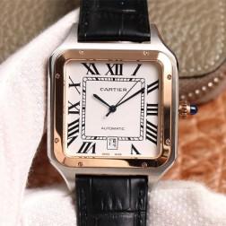 New Swiss Made Automatic SANTOS-DUMONT de Cartier 1:1 Best Replica Watch 39.5MM/35MM SCA0079