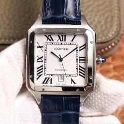 New Swiss Made Automatic SANTOS-DUMONT de Cartier 1:1 Best Replica Watch 39.5MM/35MM SCA0080