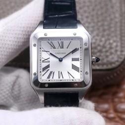 New Swiss Made Automatic SANTOS-DUMONT de Cartier WSSA0032 1:1 Best Replica Watch 33.9MM SCA0082