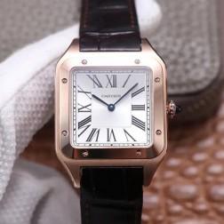 New Swiss Made Automatic SANTOS-DUMONT de Cartier 1:1 Best Replica Watch 33.9MM SCA0083