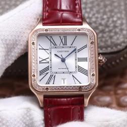 New Swiss Made Automatic SANTOS-DUMONT de Cartier 1:1 Best Replica Watch 36MM/33MM SCA0084