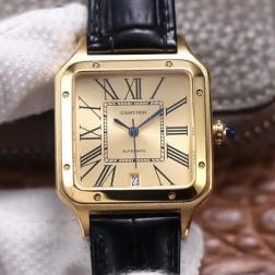 New Swiss Made Automatic SANTOS-DUMONT de Cartier 1:1 Best Replica Watch 36MM/33MM SCA0085