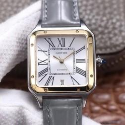 New Swiss Made Automatic SANTOS-DUMONT de Cartier 1:1 Best Replica Watch 36MM/33MM SCA0086