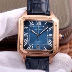 New Swiss Made Automatic SANTOS-DUMONT de Cartier 1:1 Best Replica Watch 36MM/33MM SCA0087
