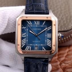 New Swiss Made Automatic SANTOS-DUMONT de Cartier 1:1 Best Replica Watch 36MM/33MM SCA0089
