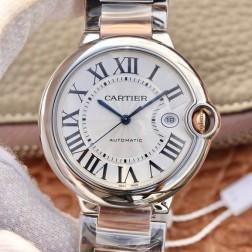 New Swiss Made Automatic BALLON BLEU de Cartier W2BB0004 1:1 Best Replica Watch 42MM SCA0090
