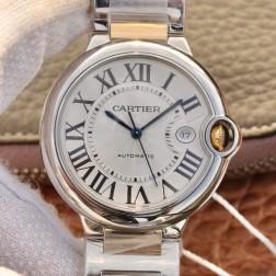 New Swiss Made Automatic BALLON BLEU de Cartier W2BB0022 1:1 Best Replica Watch 42MM SCA0091