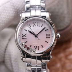30MM Swiss Made Automatic New Version Happy Diamonds Watch SCH0003