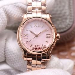 30MM Swiss Made Automatic New Version Happy Diamonds Watch SCH0006