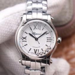 30MM Swiss Made Automatic New Version Happy Diamonds Watch SCH0007