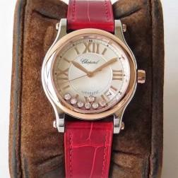 36MM Swiss Made Automatic New Version Happy Diamonds Watch SCH0015