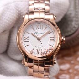 30MM Swiss Made Automatic New Version Happy Diamonds Watch SCH0018