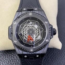 45MM Swiss Made Automatic New Version Hublot BIG BANG Best Clone Watch SHB0019