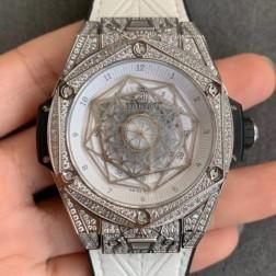 45MM Swiss Made Automatic New Version Hublot BIG BANG Best Clone Watch SHB0020