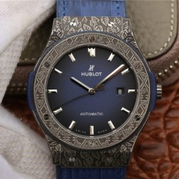 45MM Swiss Made Automatic New Titanium Hublot CLASSIC FUSION Best Clone Watch SHB0041