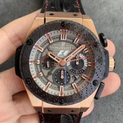 48MM Swiss Made Automatic New Hublot KING POWER Best Clone Watch SHB0043