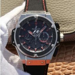 48MM Swiss Made Automatic New Hublot KING POWER Best Clone Watch SHB0044