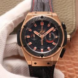 48MM Swiss Made Automatic New Hublot KING POWER Best Clone Watch SHB0046
