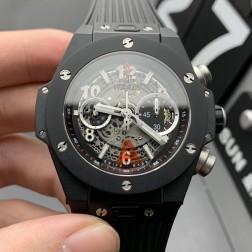 45MM Swiss Made Automatic New Hublot BIG BANG Best Clone Watch SHB0048