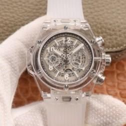 45MM Swiss Made Automatic New Hublot BIG BANG Best Clone Watch SHB0049