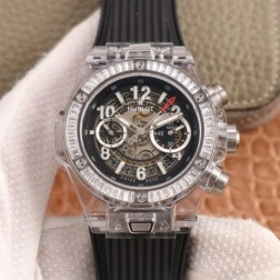 45MM Swiss Made Automatic New Hublot BIG BANG Best Clone Watch SHB0051