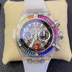 45MM Swiss Made Automatic New Hublot BIG BANG Best Clone Watch SHB0052