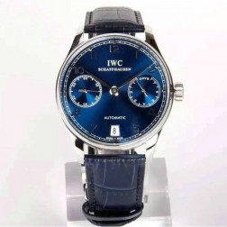 Best Replica IWC Portuguese IW500704 Swiss Made Movement 42mm SS Case Blue Dial SIW113