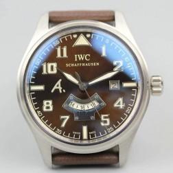 Replica IWC Pilots UTC Antoine de Saint Exupery Limited Edition IW326104 Brown Dial 44mm SIW118