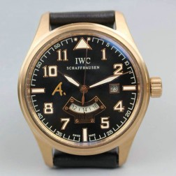 Replica IWC Pilots UTC Antoine de Saint Exupery Limited Edition IW326104 Rose Gold SIW119