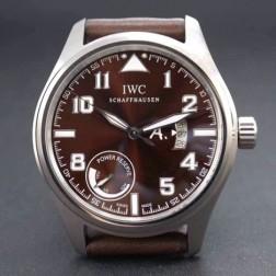 AAA Replica IWC Pilot Antoine de Saint Exupery 44mm Brown dial Leather Strap SIW130