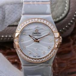 Best Replica 1:1 Swiss Quartz Omega Constellation Watch 27MM SOC0001