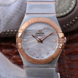 Best Replica 1:1 Swiss Quartz Omega Constellation Watch 27MM SOC0002