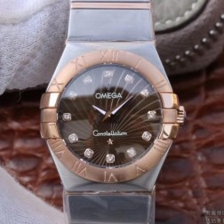 Best Replica 1:1 Swiss Quartz Omega Constellation Watch 27MM SOC0003