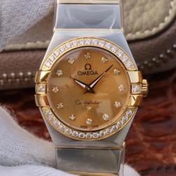 Best Replica 1:1 Swiss Quartz Omega Constellation Watch 27MM SOC0004